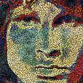 Doors Jim Morrison  by Jack Zulli