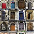 Doors Of Paris by Heidi Hermes