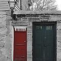 Doors Of St. Augustine by Jost Houk