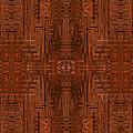 Doors Of Zanzibar Cayenne by Judi Suni Hall