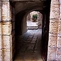Doorway In Old City Jerusalem by David T Wilkinson