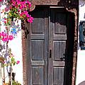 Doorway Oia Santorini Greek Islands by Carole-Anne Fooks