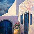 Doorway_greece by Fran McDonald Berry