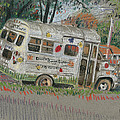 Doodlebugs Bus by Donald Maier