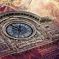 D'orsay Clock Paris by Evie Carrier
