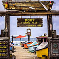 Dory Fishing Fleet Market Newport Beach California by Paul Velgos