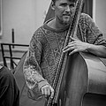 Double Bass Player by David Morefield