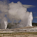 Double Geyser by Lee Kirchhevel