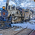Double Header Nevada Northern Railway #1 by Tom and Pat Cory