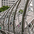 Double Helix Bridge 01 by Rick Piper Photography
