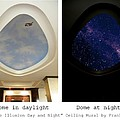 Double Illusion Day And Night Ceiling Mural by Frank Wilson