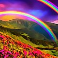 Double Rainbow by Catherine Lott