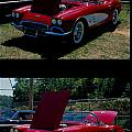 Double Red Corvette by George Ferrell