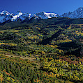 Double Rl Ranch Near Ridgway, Colorado by Panoramic Images