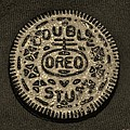 Double Stuff Oreo In Sepia Negitive by Rob Hans