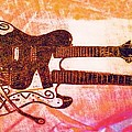 Double Trouble Guitar by Alec Drake