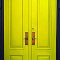 Double Yellow Doors by Tikvah's Hope