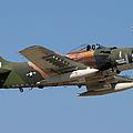 Douglas Ad-4 Skyraider by Adam Romanowicz