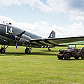 Douglas C-47a Skytrain Ready For D-day by Gary Eason