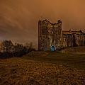 Doune Castle At Night by Jason Lanier