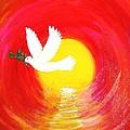 Dove Of Peace by Karen Jane Jones