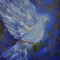 Dove Spirit Of Peace by Louise Burkhardt