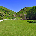 Dovedale - Stepping Stones Area by Rod Johnson