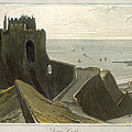 Dover Castle, From A Voyage Around by William Daniell