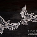 Doves by Doreen Karales Zonts