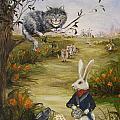 Down A Rabbit Hole by Stella Violano