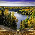 Down Hill Into Fall by LeeAnn McLaneGoetz McLaneGoetzStudioLLCcom