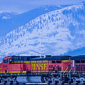 Down The Kootenai  -  150111a-075 by Albert Seger