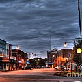 Down Town Granite Falls At Six Thirty In The Morning by Robert Loe