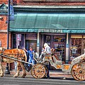Down Town Nashville by Jim Percival