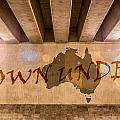 Down Under Map  by Semmick Photo