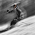 Downhill Skier  by Dan Friend