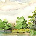 Downriver Napanee by John Herzog