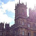 Downton Abbey In A Ray Of Sunlight by Nicole Parks