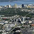 Downtown Anchorage Alaska by Bill Cobb