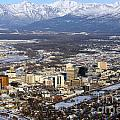 Downtown Anchorage by Bill Cobb
