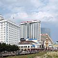 Downtown Atlantic City New Jersey by Bill Cobb