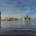 Downtown Baltimore And Harbor East Skylines by Cityscape Photography