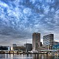 Downtown Baltimore by Olivier Le Queinec