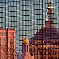 Downtown Boston Reflection by John McGraw