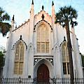 Downtown Charleston Church by Dale Powell