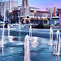 Downtown City Plaza Chico California by Kathleen Gauthier
