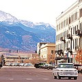 Downtown Colorado Springs  Colorado by Tammy Burgess