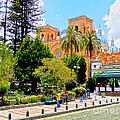 Downtown Cuenca Ecuador by Al Bourassa