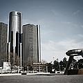 Downtown Detroit by Laura Kinker