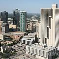 Downtown Fort Worth Skyline by Bill Cobb